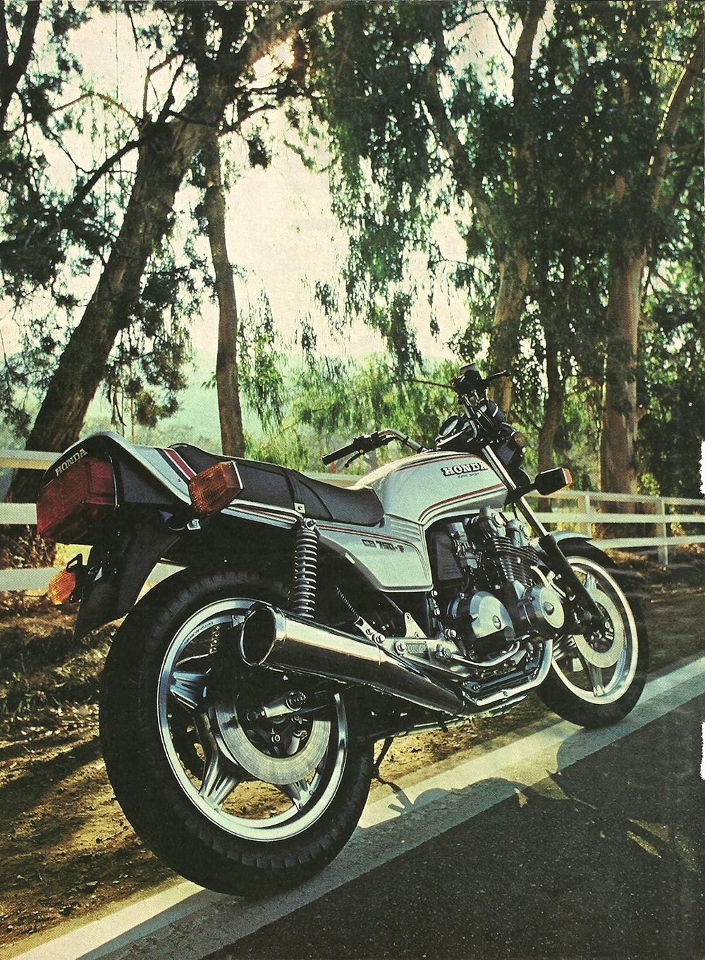 Ye Olde Cycle Shoppe 1975 Honda Cb750f 1979 Test Pg1