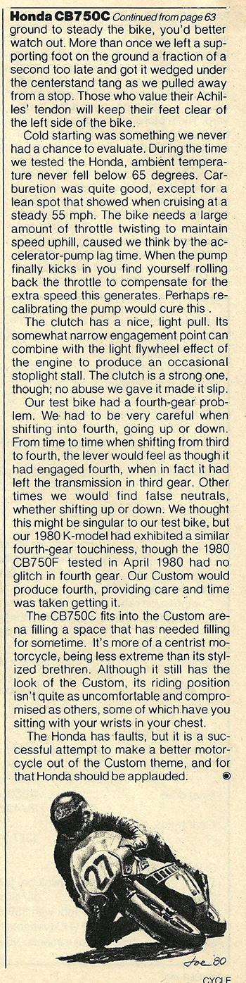 1980 Honda CB750C road test 07.jpg