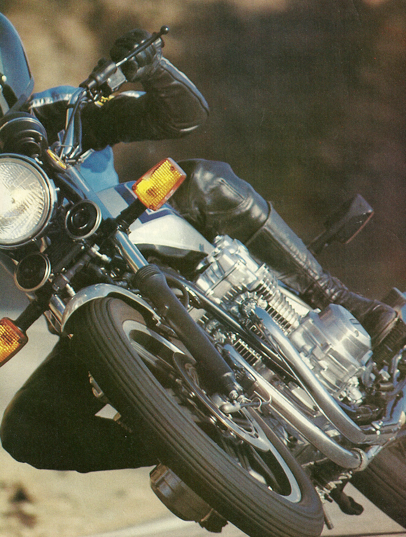 Ye Olde Cycle Shoppe 1975 Honda Cb750f 1980 Road Test 02