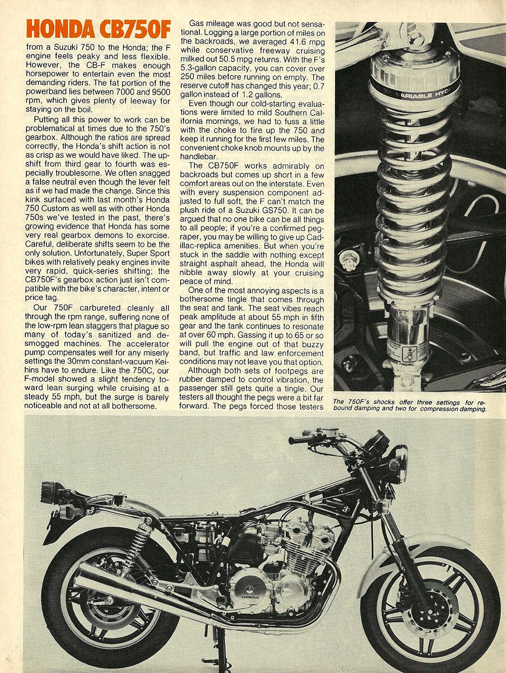 1980 Honda CB750F road test 05.jpg