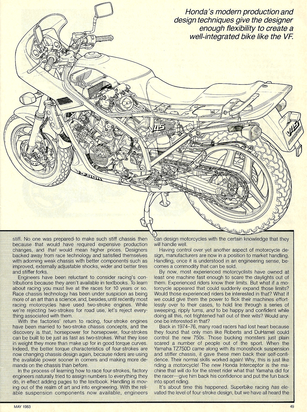 1983 Honda V45 Interceptor road test 09.jpg