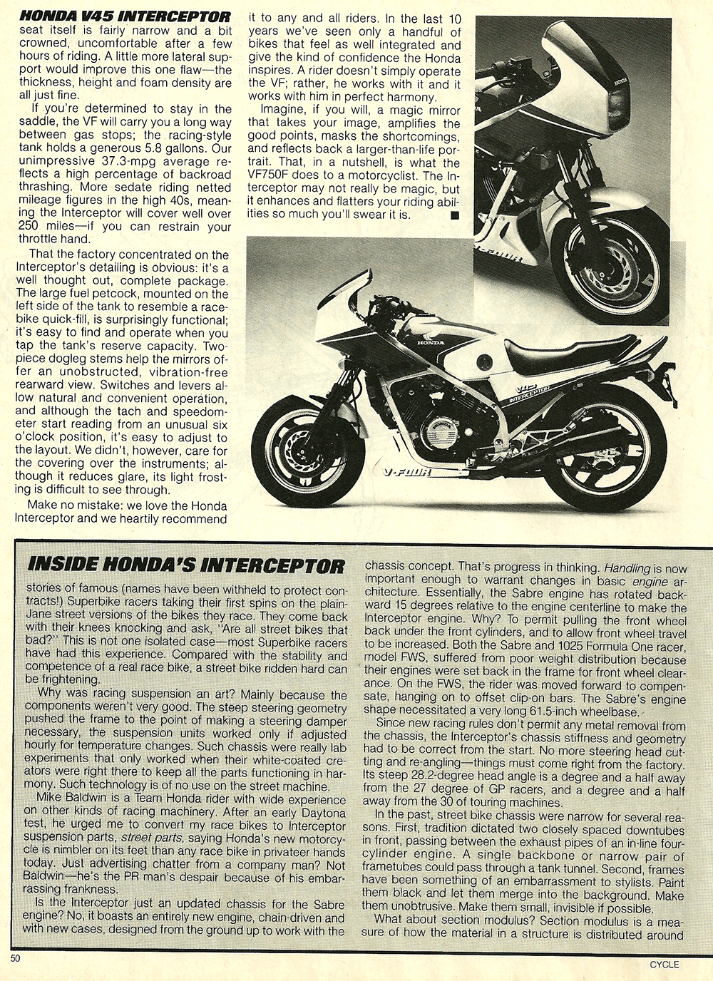 1983 Honda V45 Interceptor road test 10.jpg