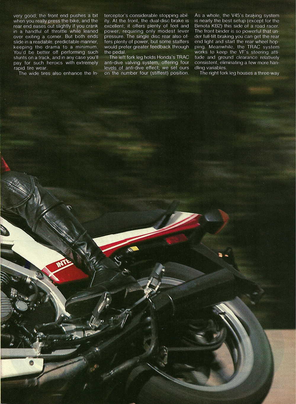 1983 Honda V45 Interceptor road test 04.jpg