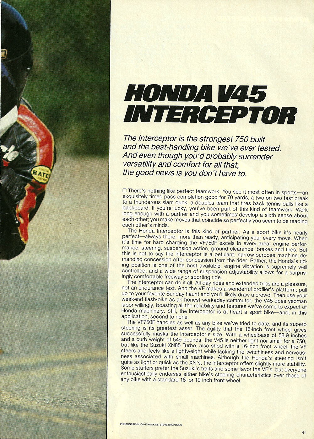 1983 Honda V45 Interceptor road test 02.jpg