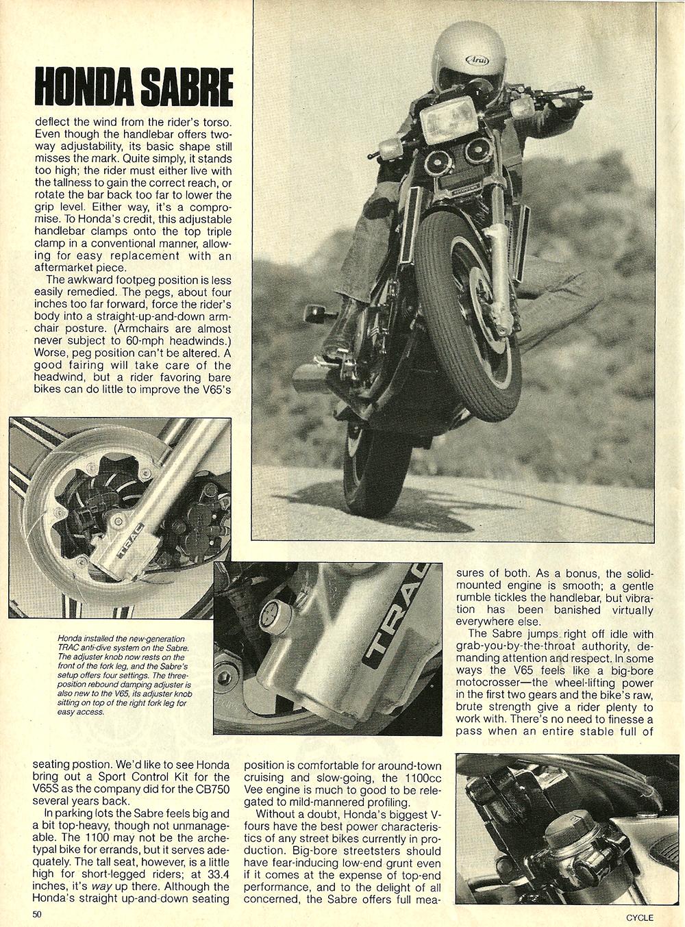 1984 Honda V65 Sabre road test 7.jpg