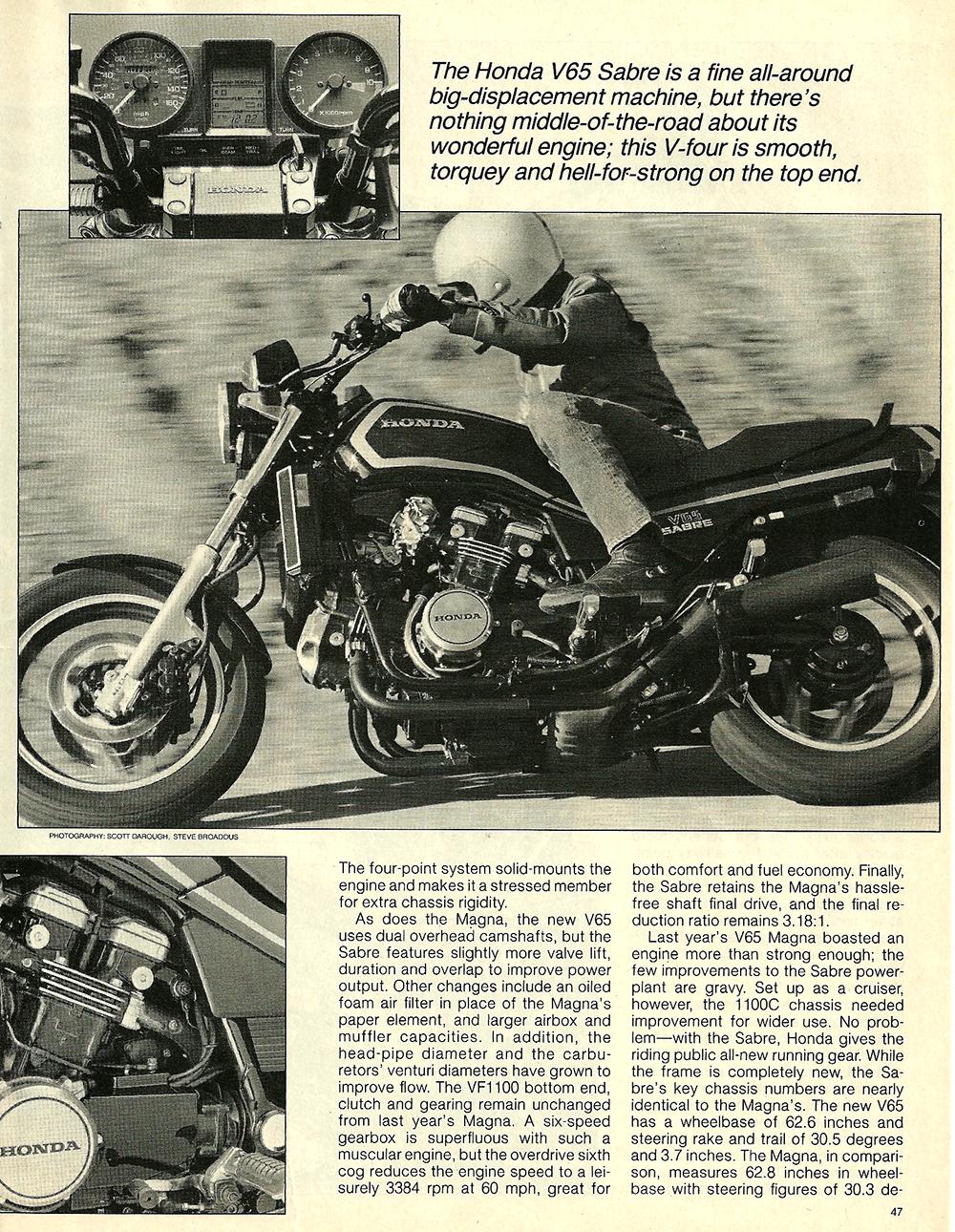 1984 Honda V65 Sabre road test 4.jpg