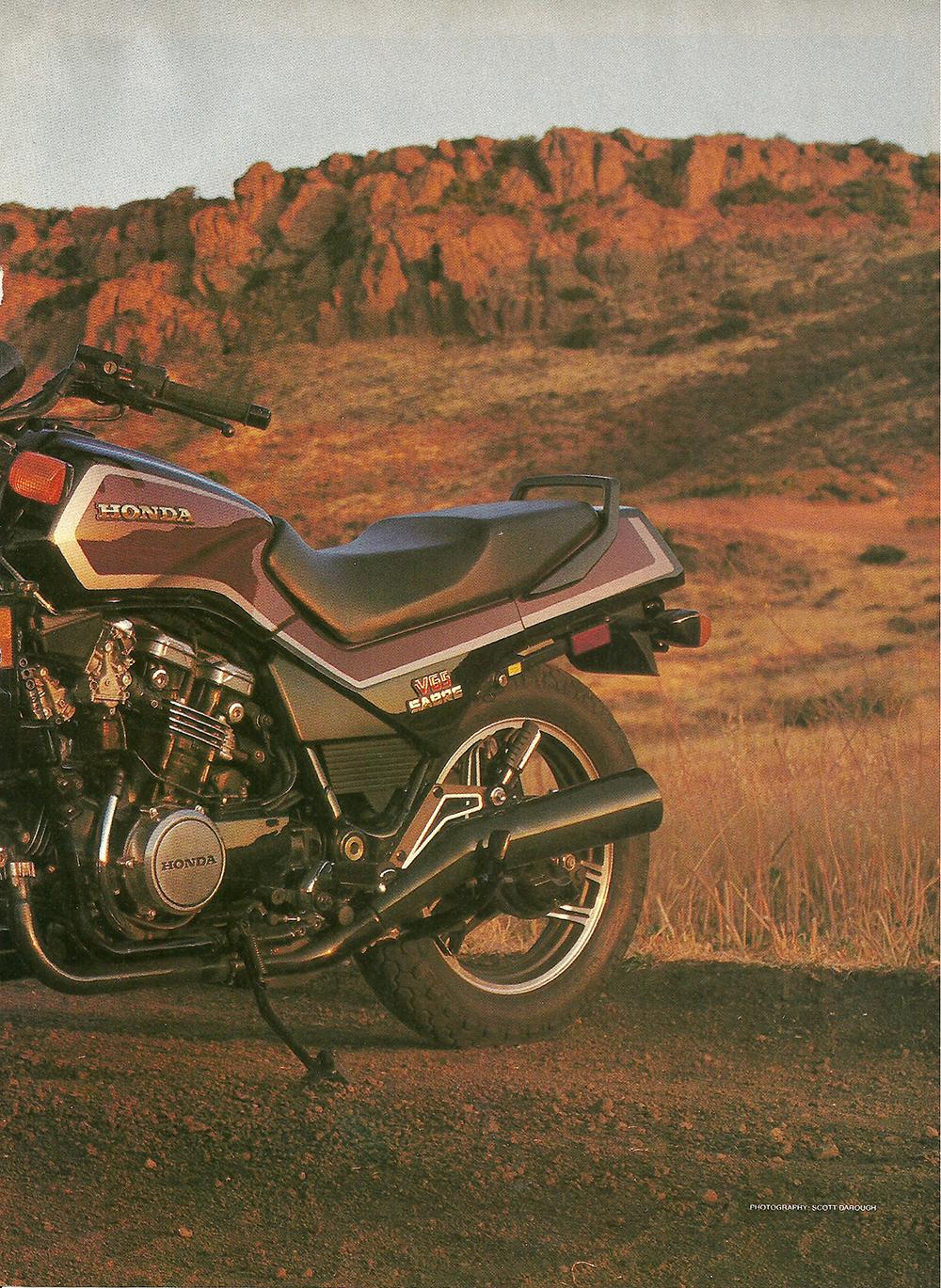 1984 Honda V65 Sabre road test 2.jpg