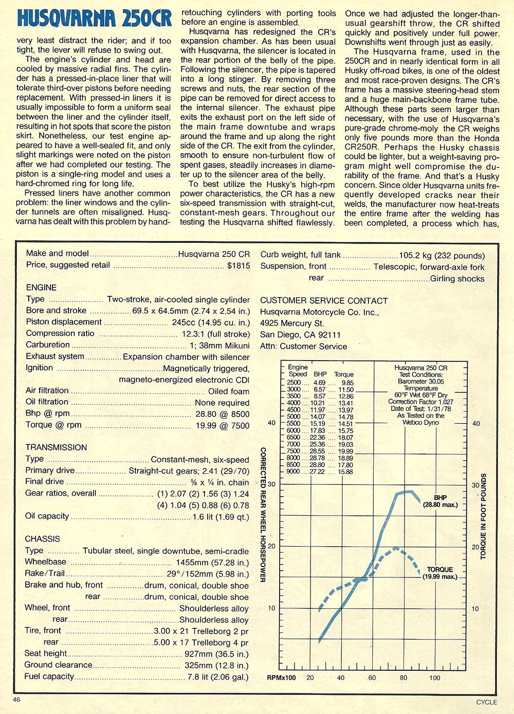 1978 Husqvarna 250 CR road test 4.jpg