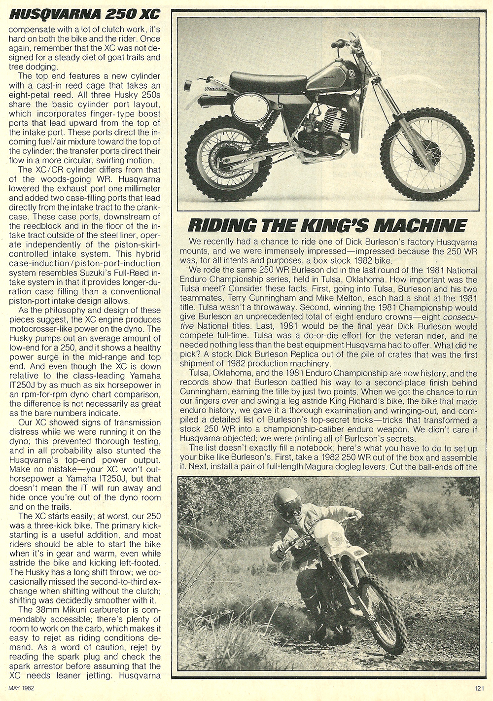 1982 Husqvarna 250 XC road test 5.jpg