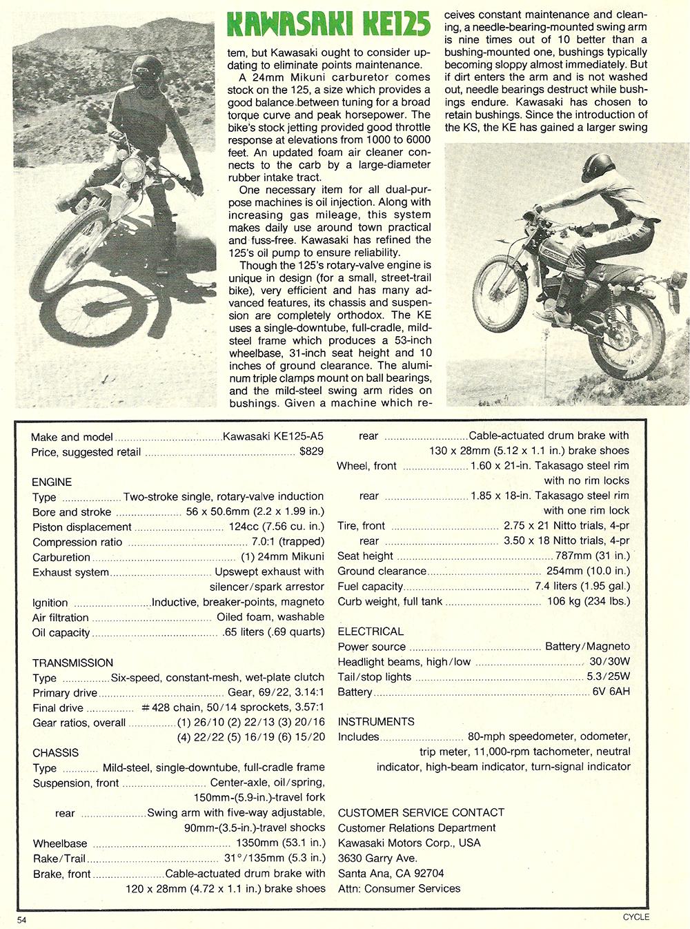 1978 Kawasaki KE125 A5 roat test 03.jpg