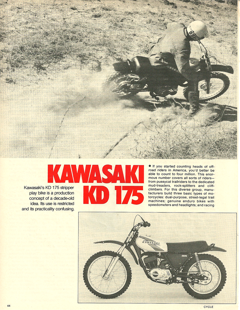 1975 Kawasaki KD 175 road test 1.png