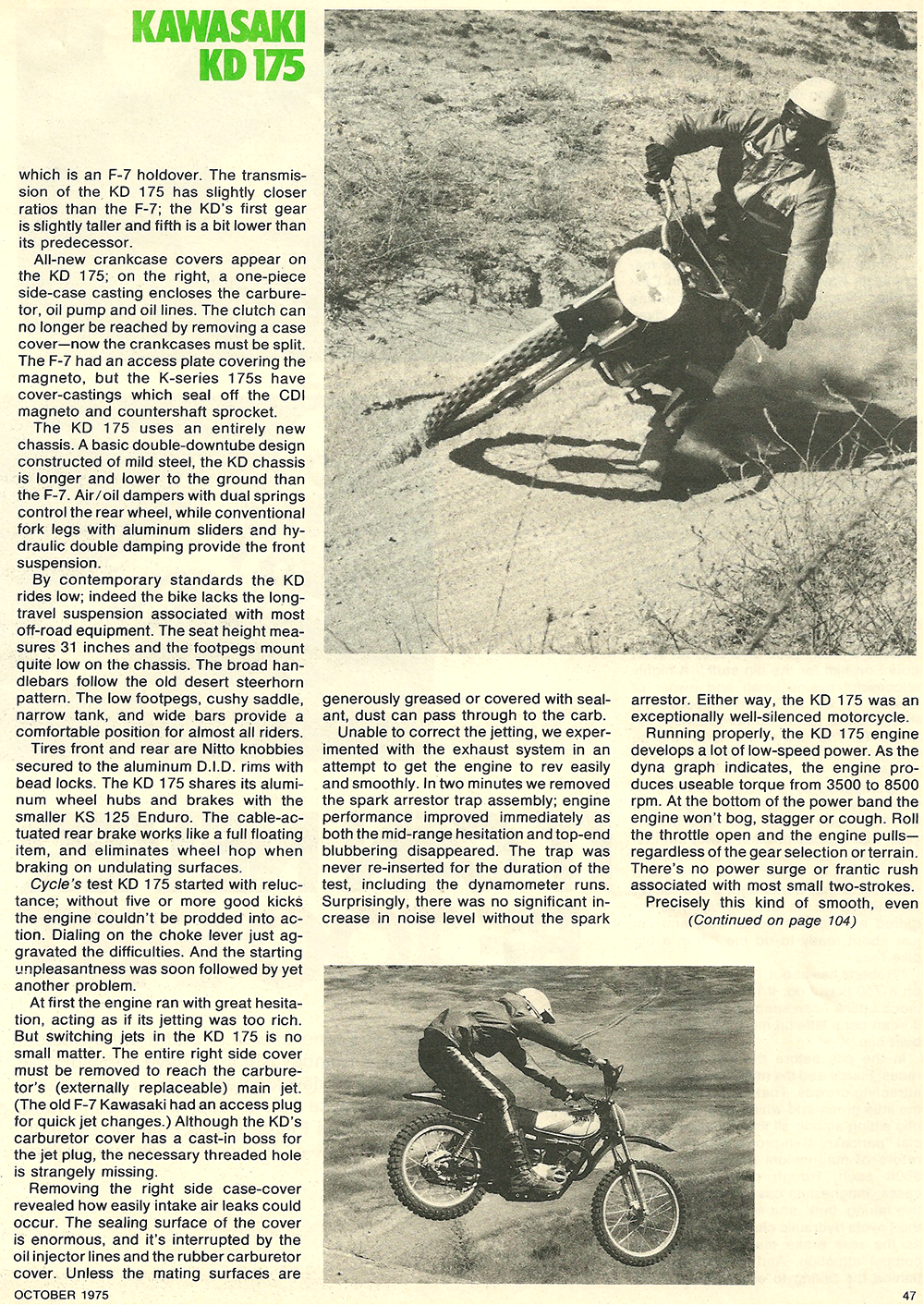 1975 Kawasaki KD 175 road test 4.png