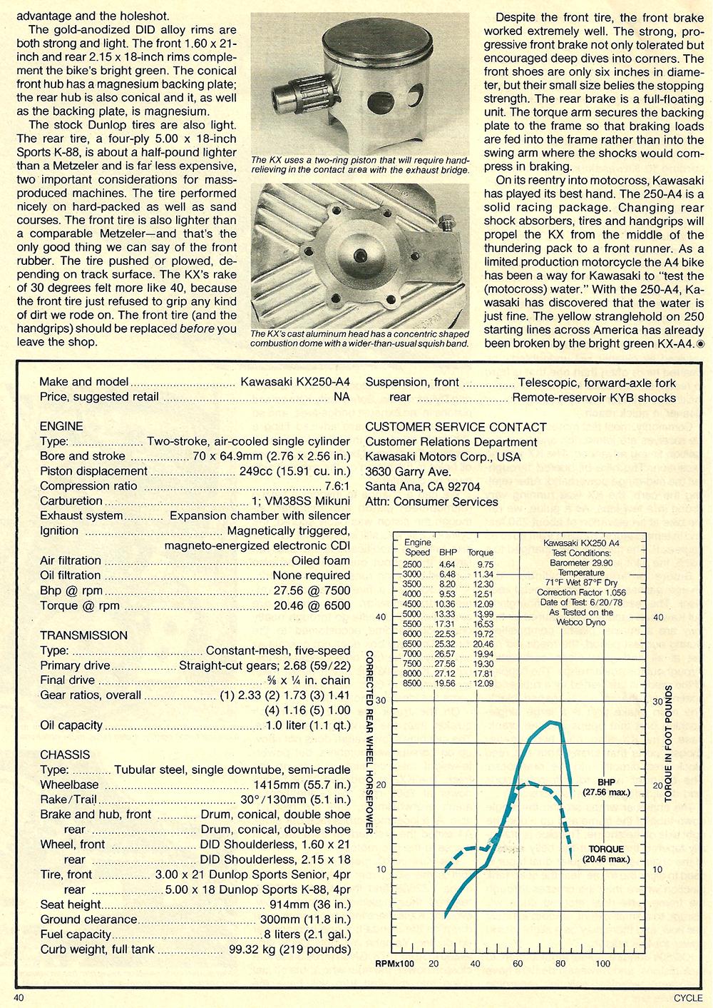 1978 Kawasaki KX250 A4 road test 05.jpg