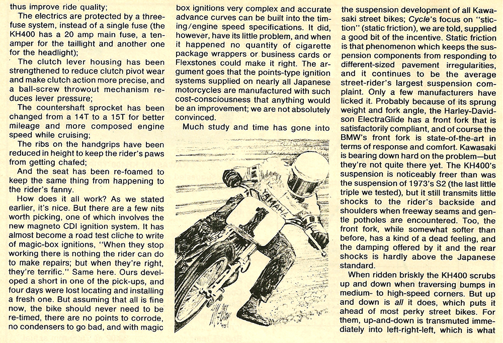 1976 Kawasaki KH400 road test 5.jpg