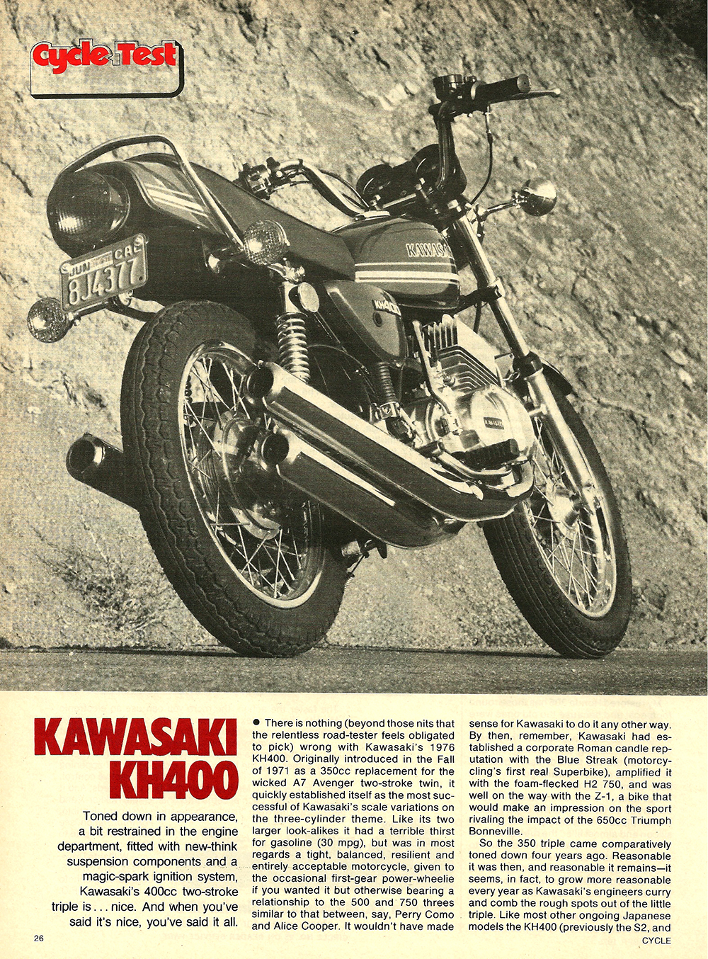 1976 Kawasaki KH400 road test 1.jpg