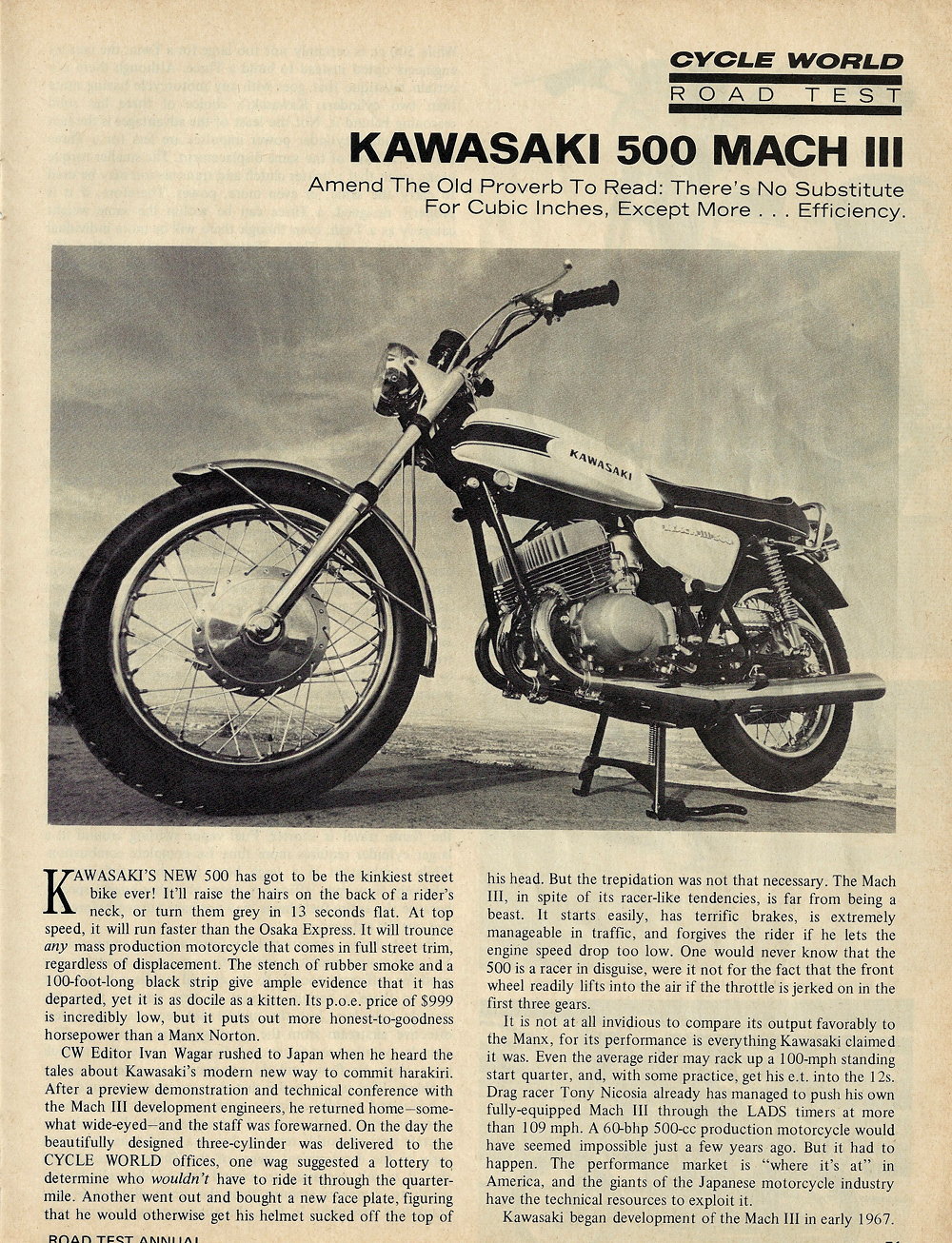 1969 Kawasaki 500 Mach 3 road test 1.jpg