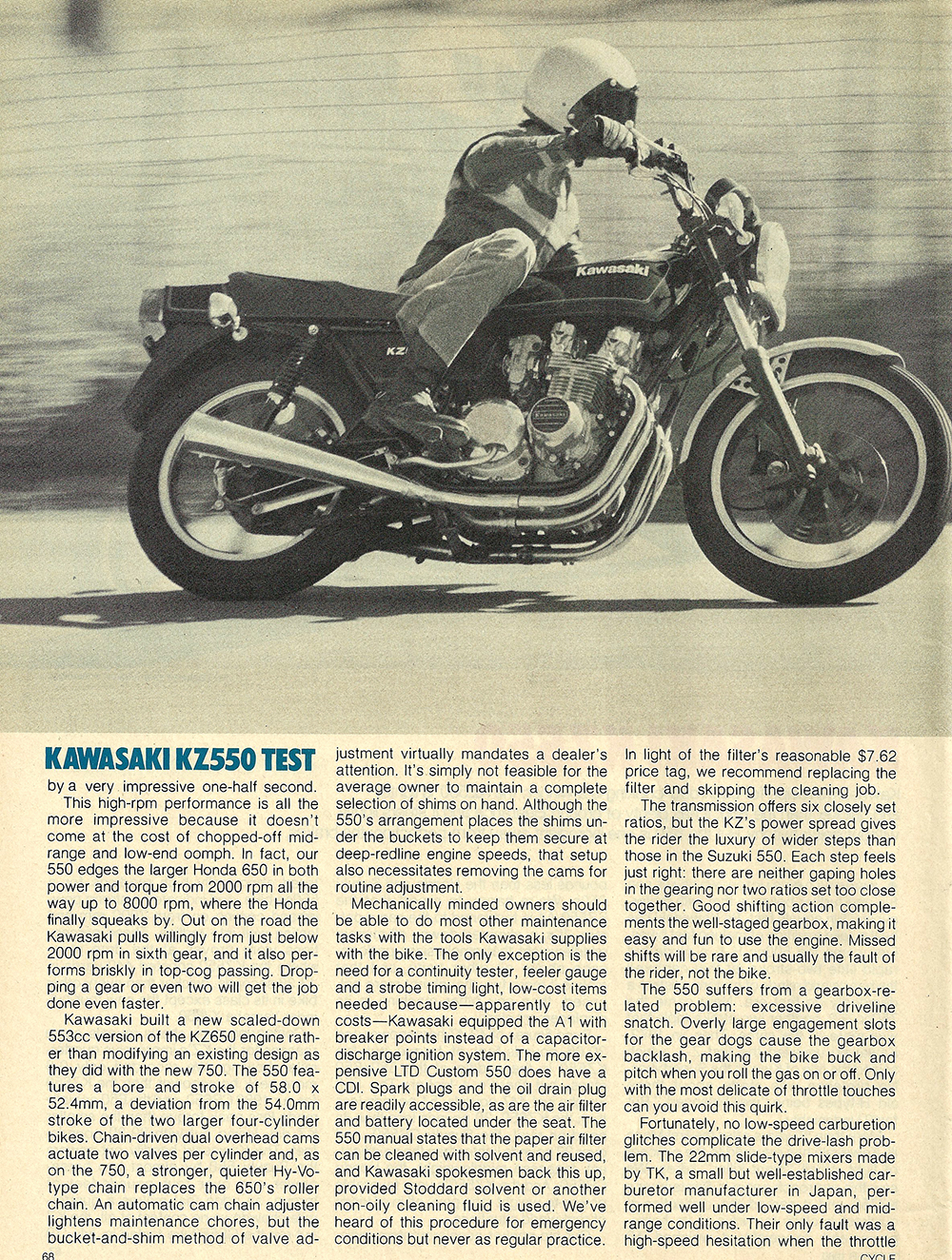 1980 Kawasaki KZ550 road test 02.jpg