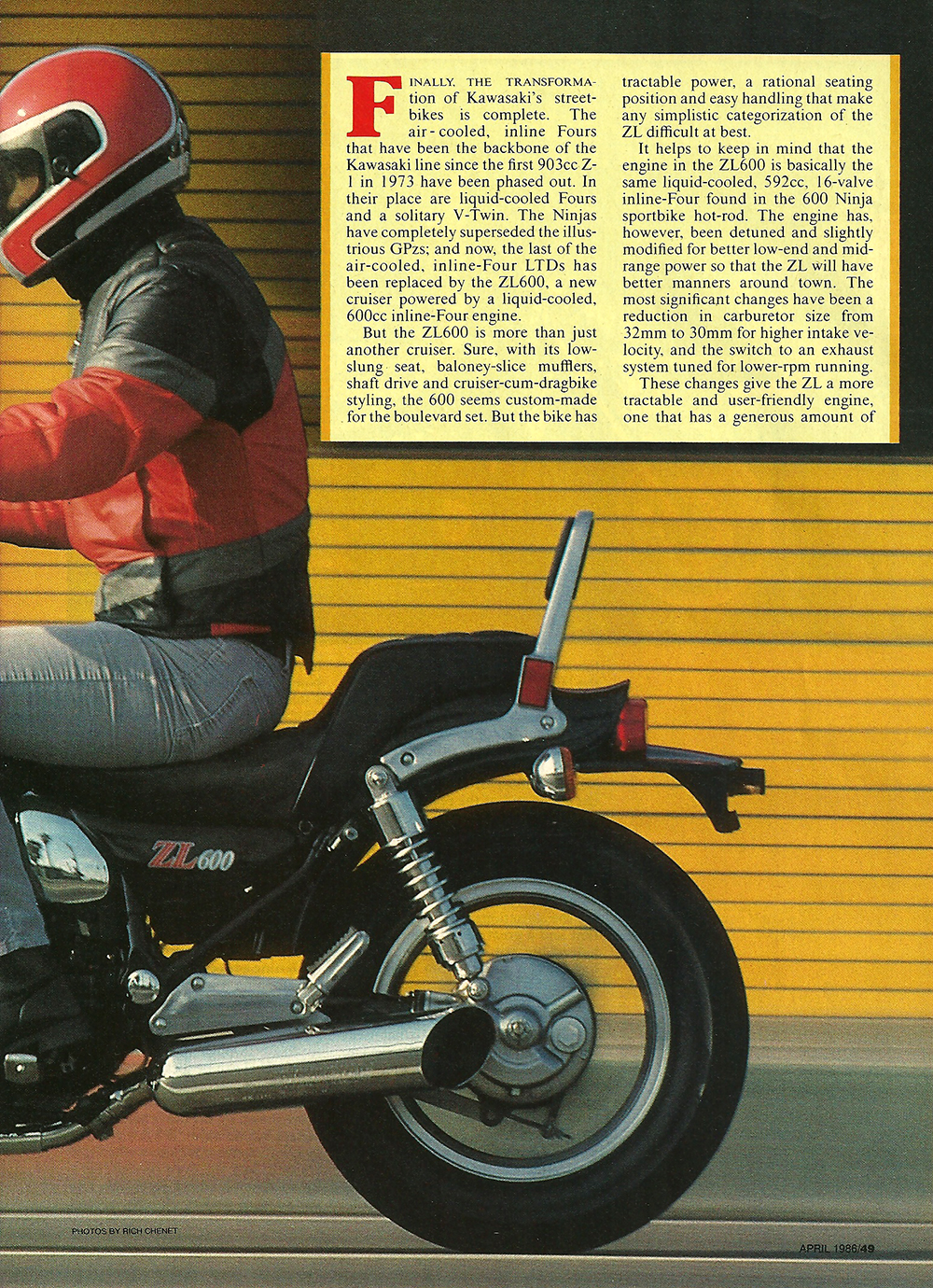 1986 Kawasaki ZL600 Eliminator road test 02.jpg