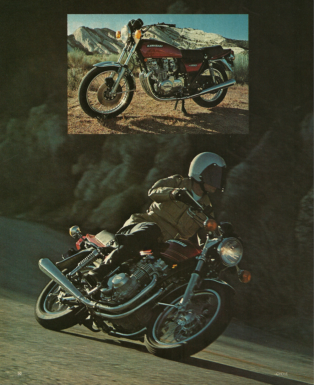 1976 Kawasaki KZ650 road test 03.jpg