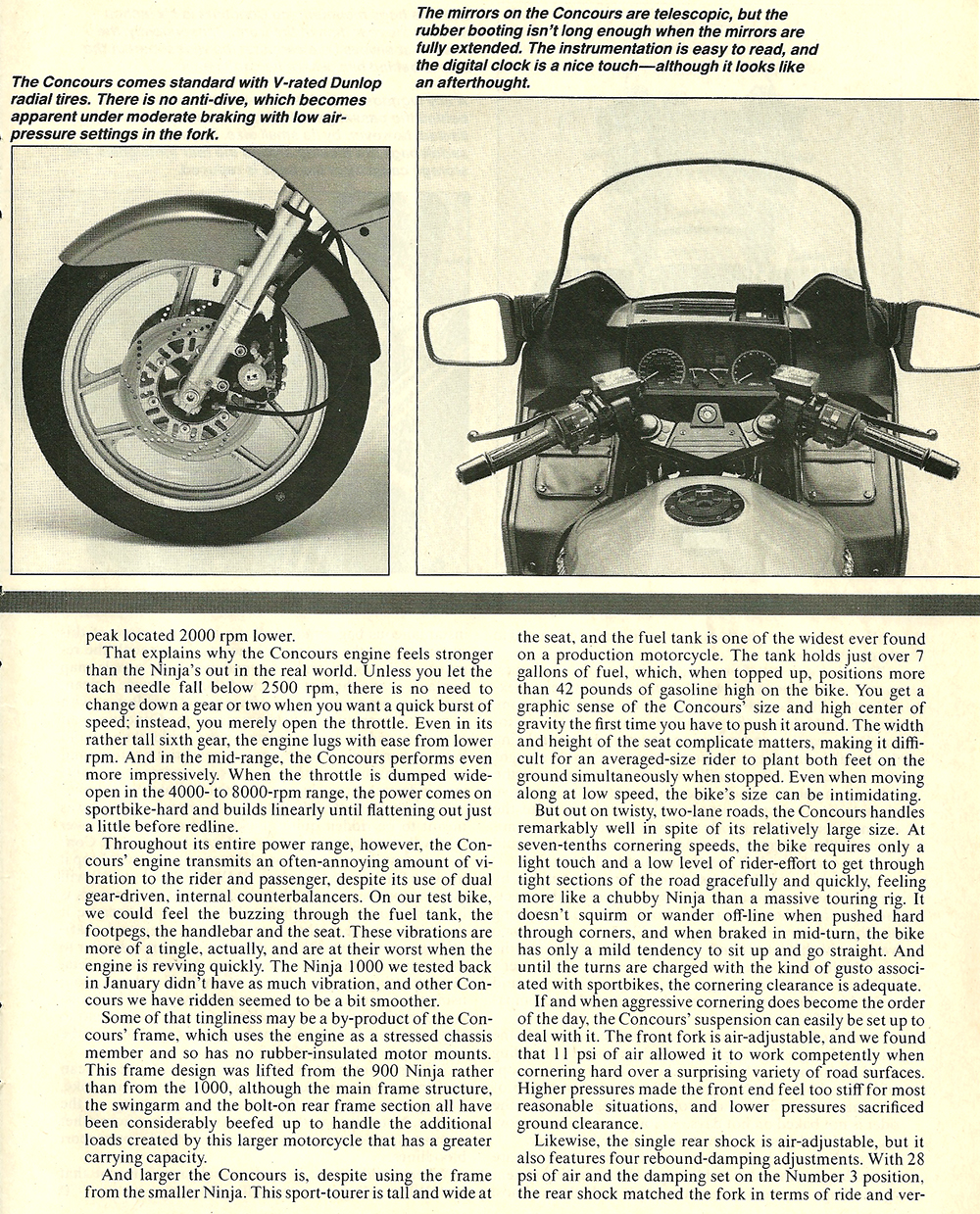 1986 Kawasaki 1000 Concours road test 04.jpg