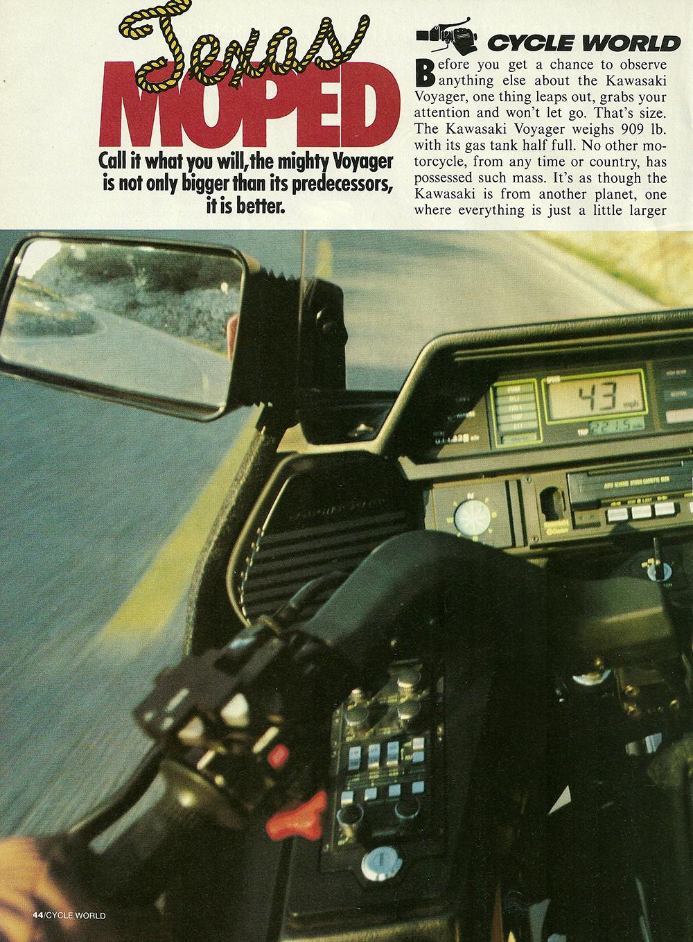 1983 Kawasaki Voyager 1300 road test 01.jpg