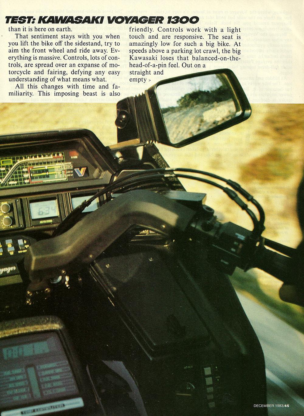 1983 Kawasaki Voyager 1300 road test 02.jpg