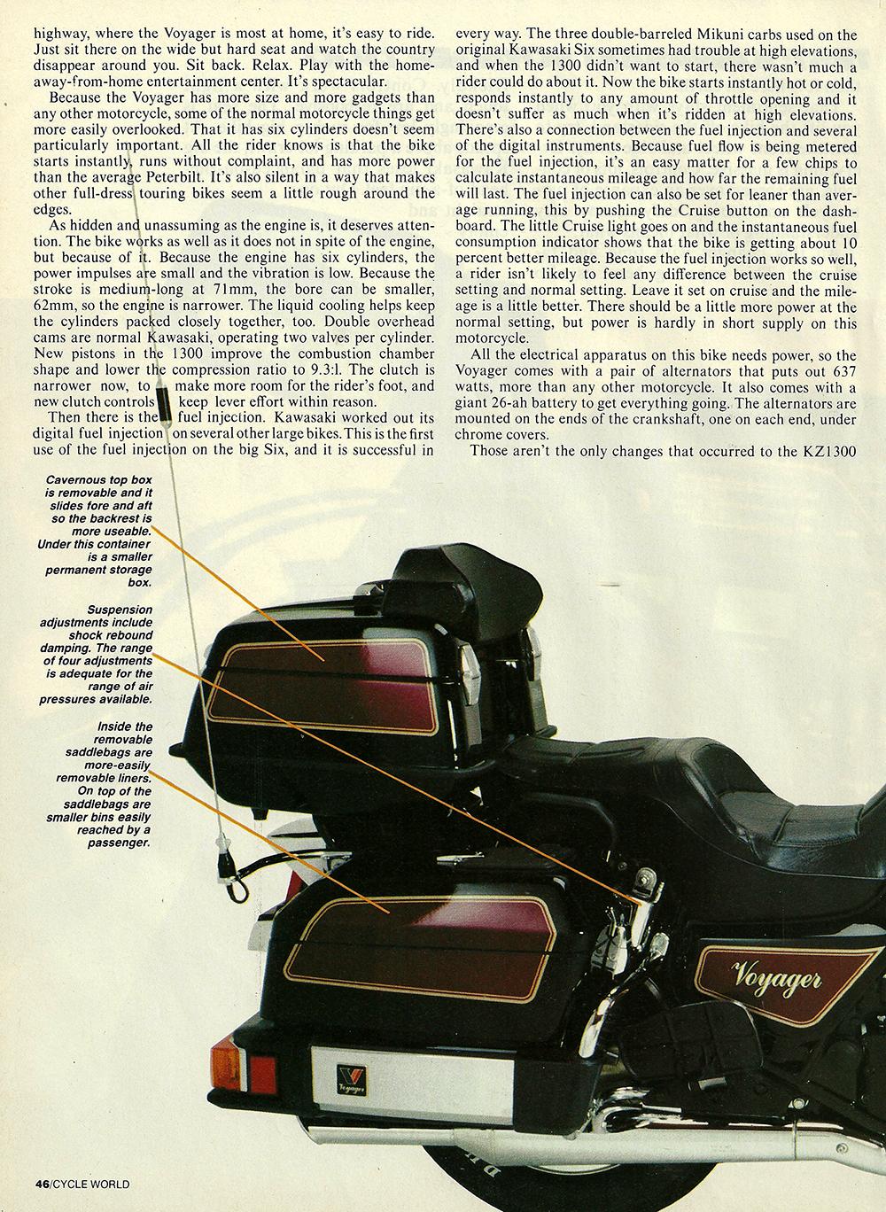 1983 Kawasaki Voyager 1300 road test 03.jpg