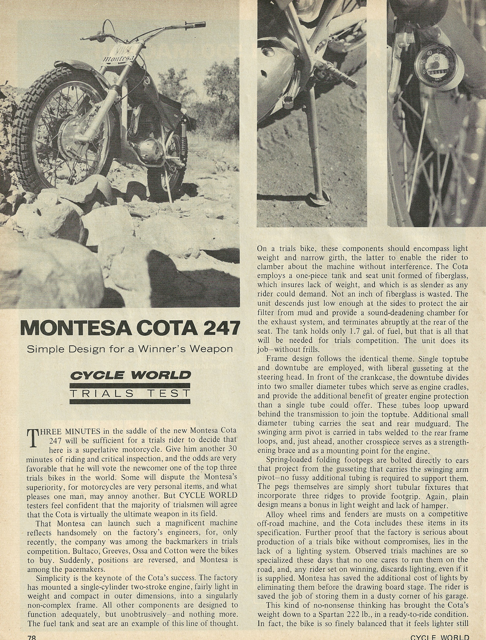 1969 Montesa Cota 247 road test 1.jpg