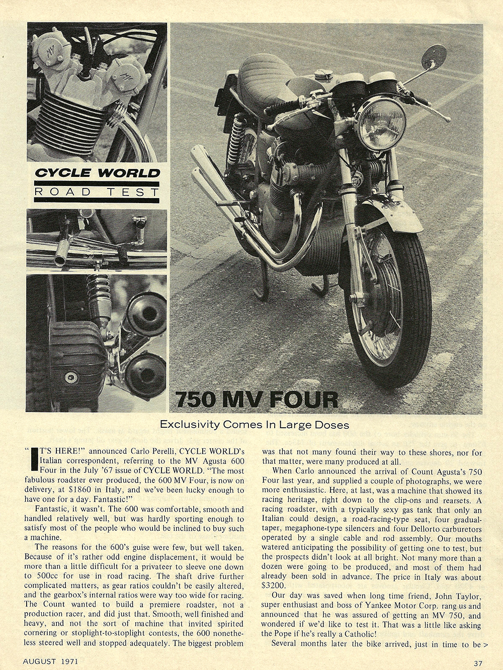 1971 MV 750 four road test 01.jpg