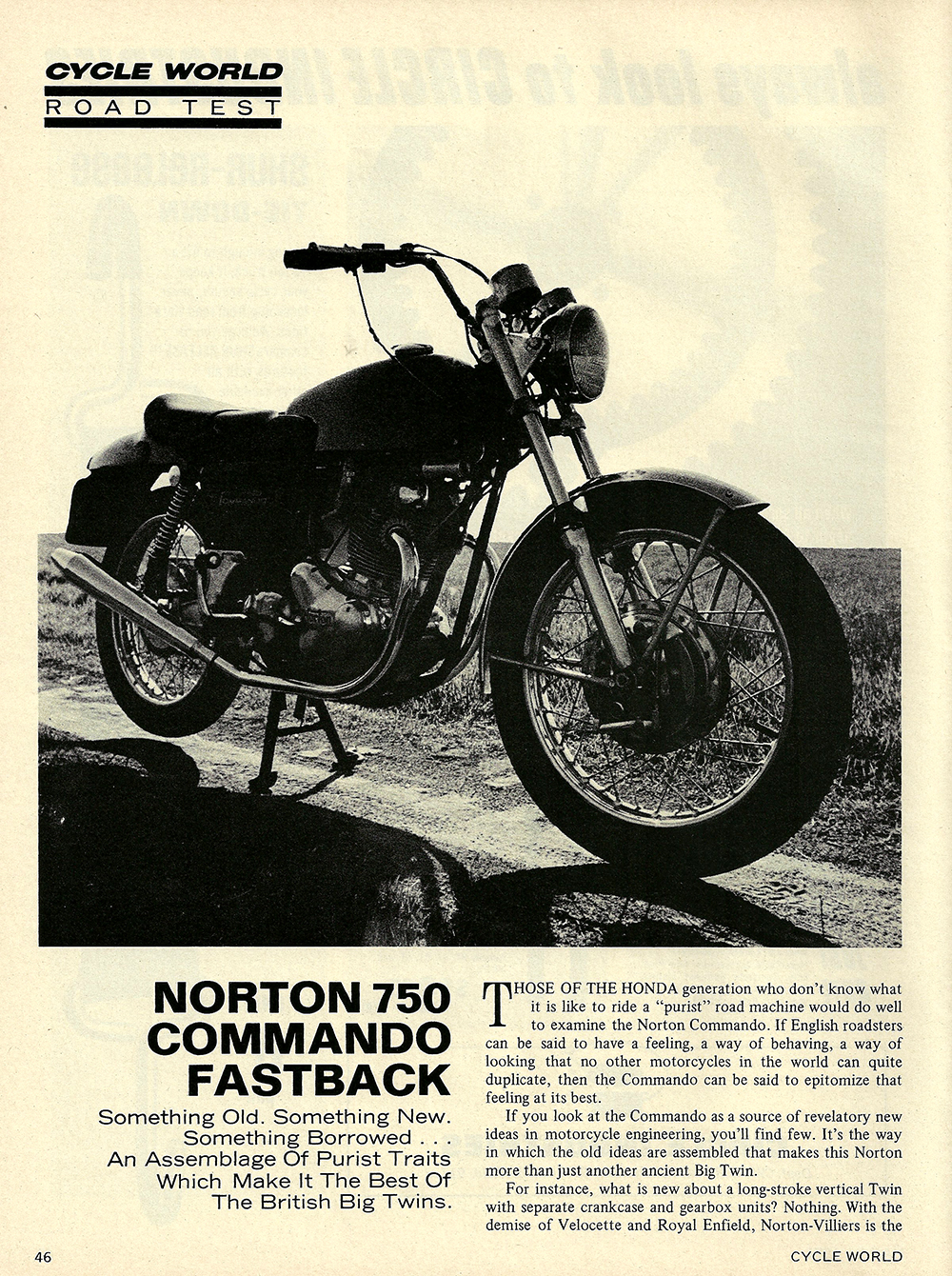 1971 Norton 750 Commando Fastback road test 01.jpg