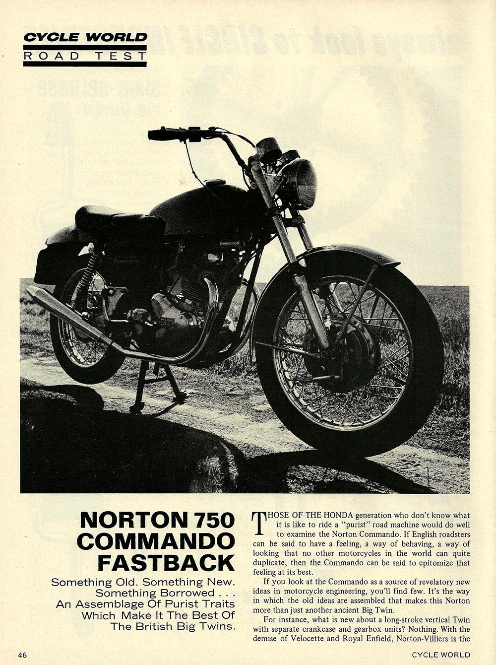 1971 Norton 750 Commando Fastback road test 01.jpg