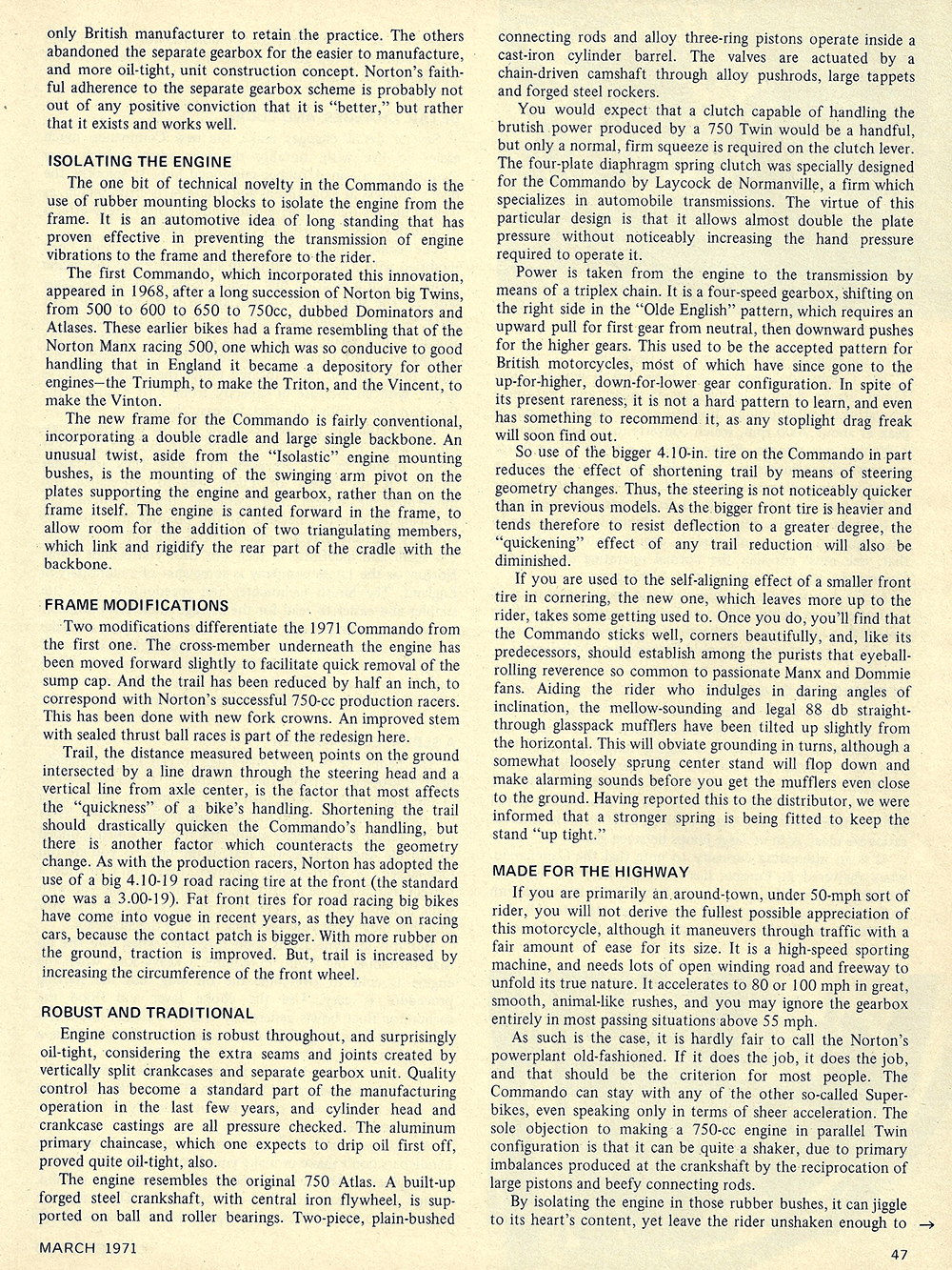 1971 Norton 750 Commando Fastback road test 02.jpg