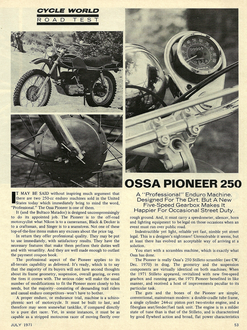 1971 Ossa Pioneer 250 road test 01.jpg