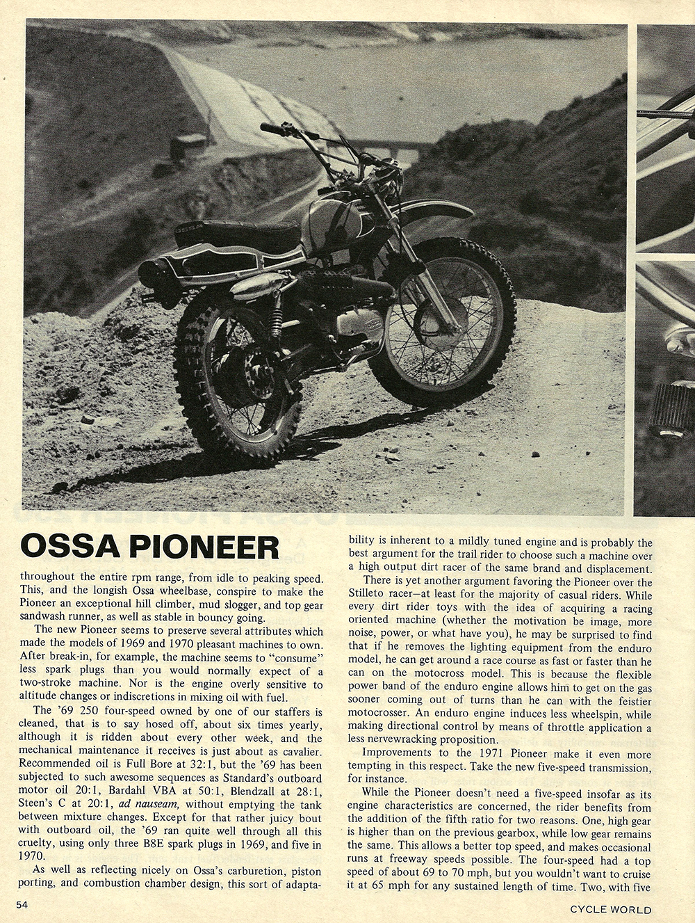 1971 Ossa Pioneer 250 road test 02.jpg