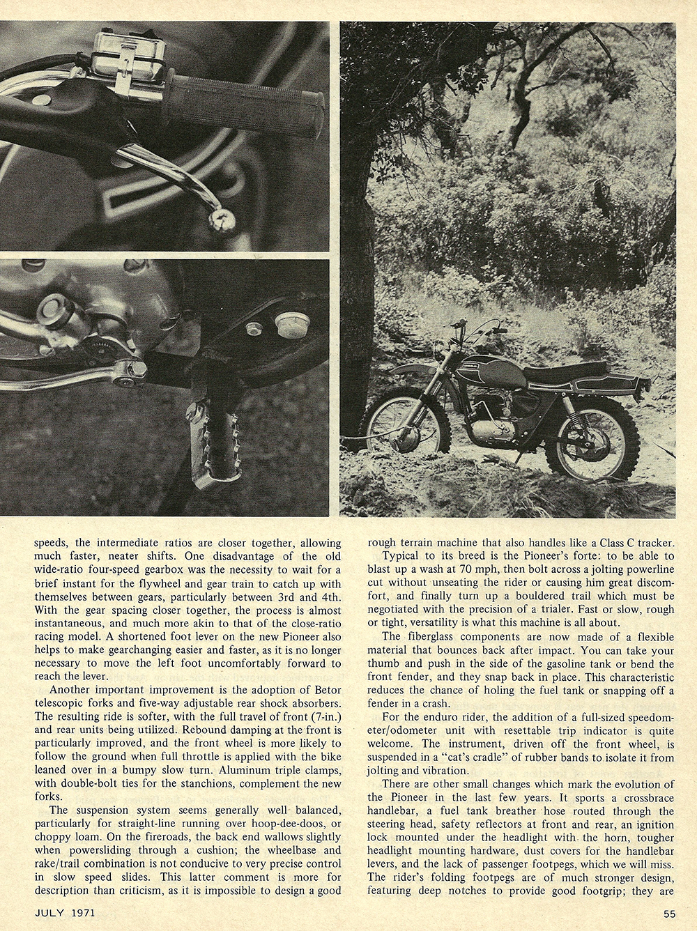 1971 Ossa Pioneer 250 road test 03.jpg