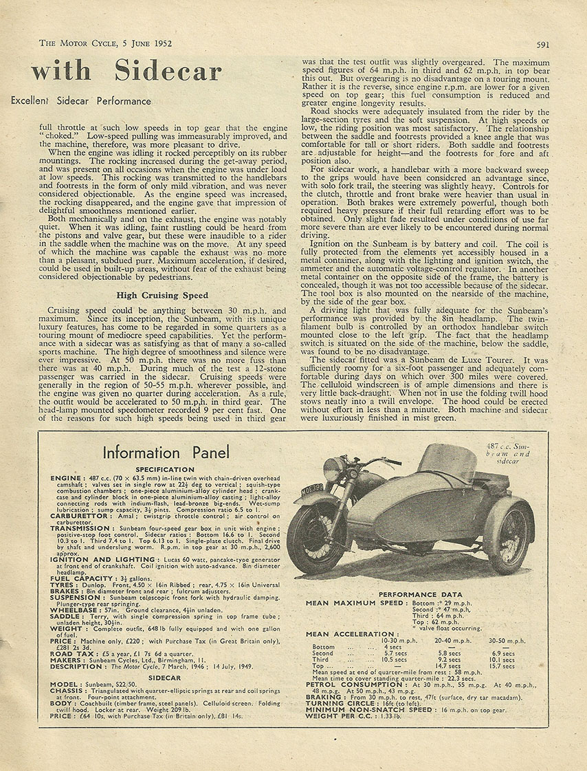 1952 Sunbeam 487cc S7 road test 2.JPG