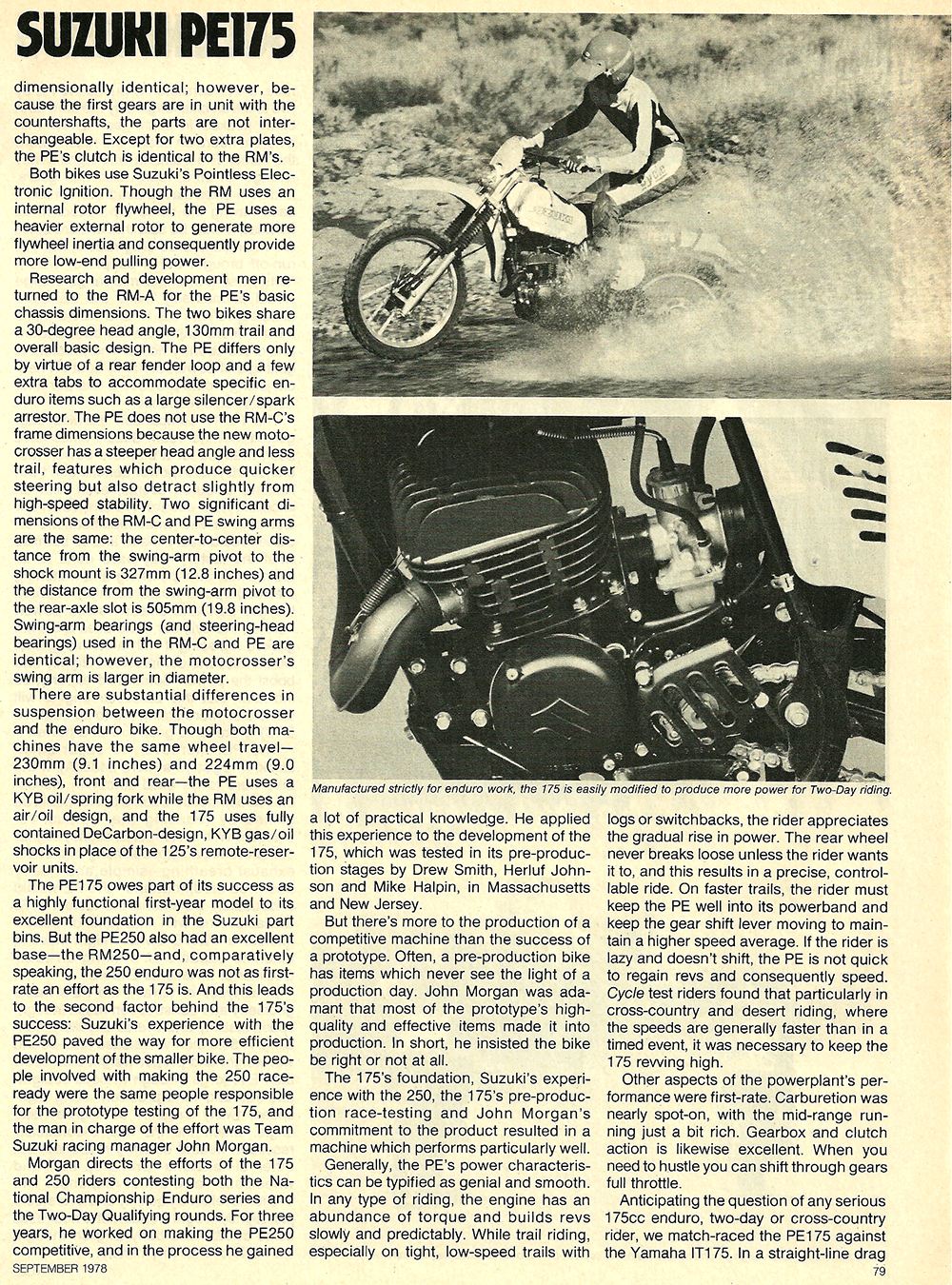 1978 Suzuki PE175 road test 04.jpg