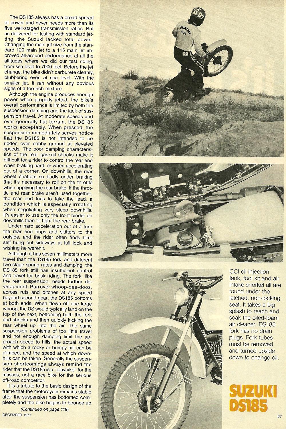 1977 Suzuki DS185 road test 06.jpg