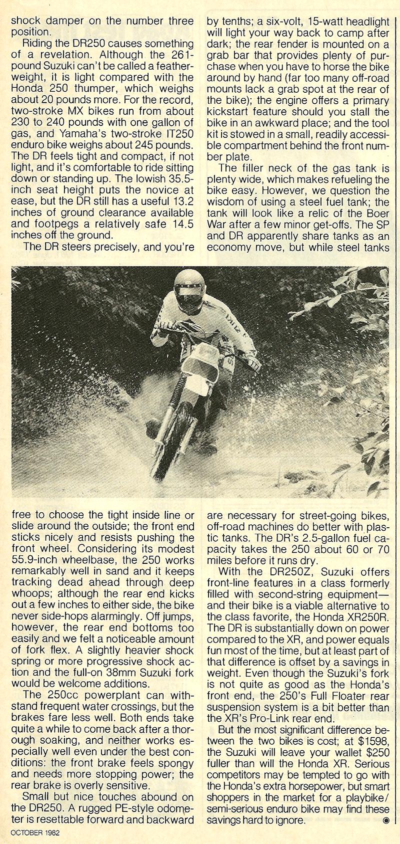 1982 Suzuki DR250Z road test 8.jpg