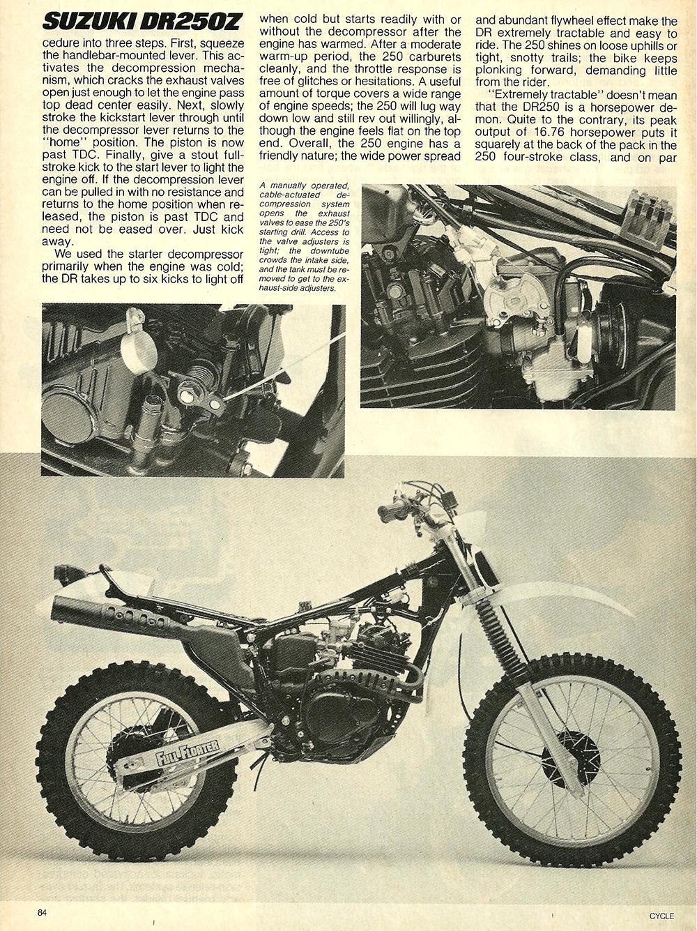 1982 Suzuki DR250Z road test 5.jpg