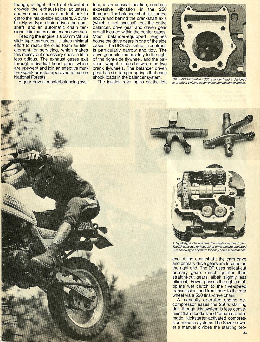 1982 Suzuki DR250Z road test 4.jpg
