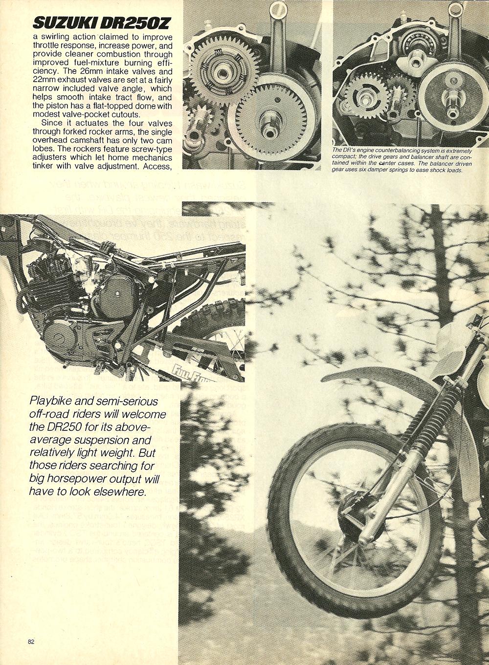 1982 Suzuki DR250Z road test 3.jpg