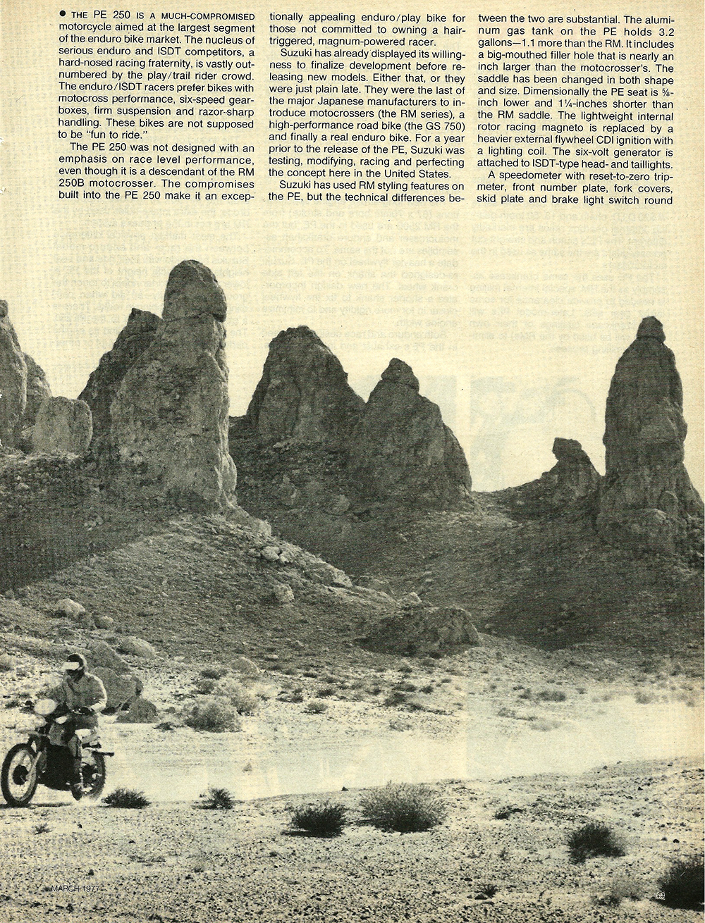 1977 Suzuki PE250 road test 2.jpg