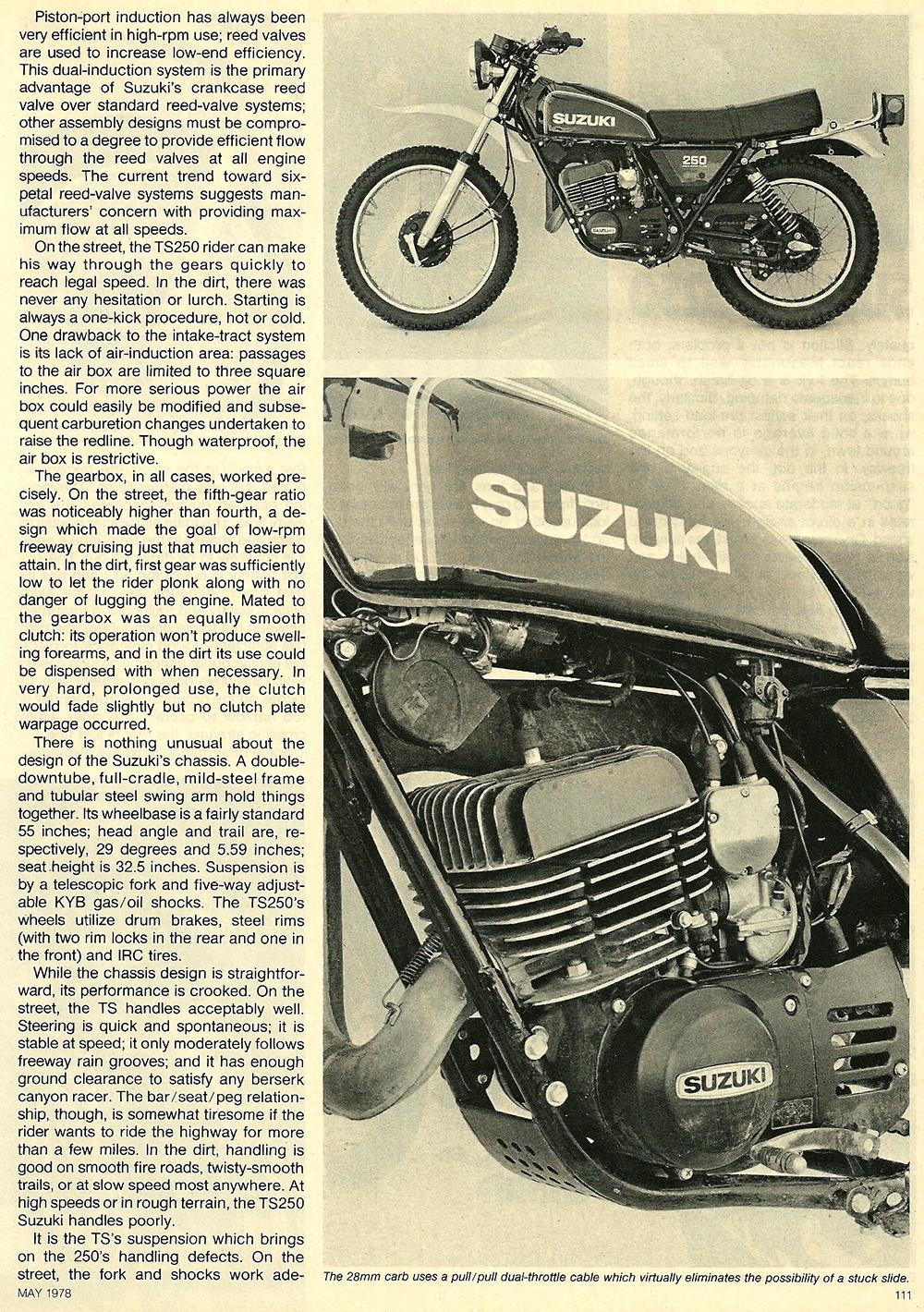 1978 Suzuki TS250 road test 03.jpg