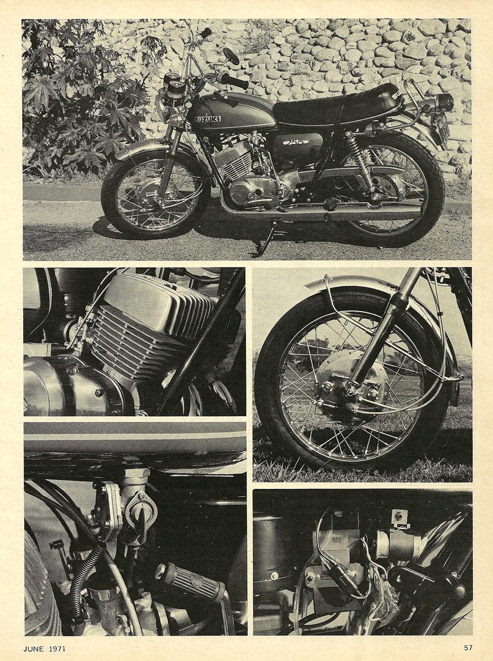 1971 Suzuki T250R road test 02.jpg