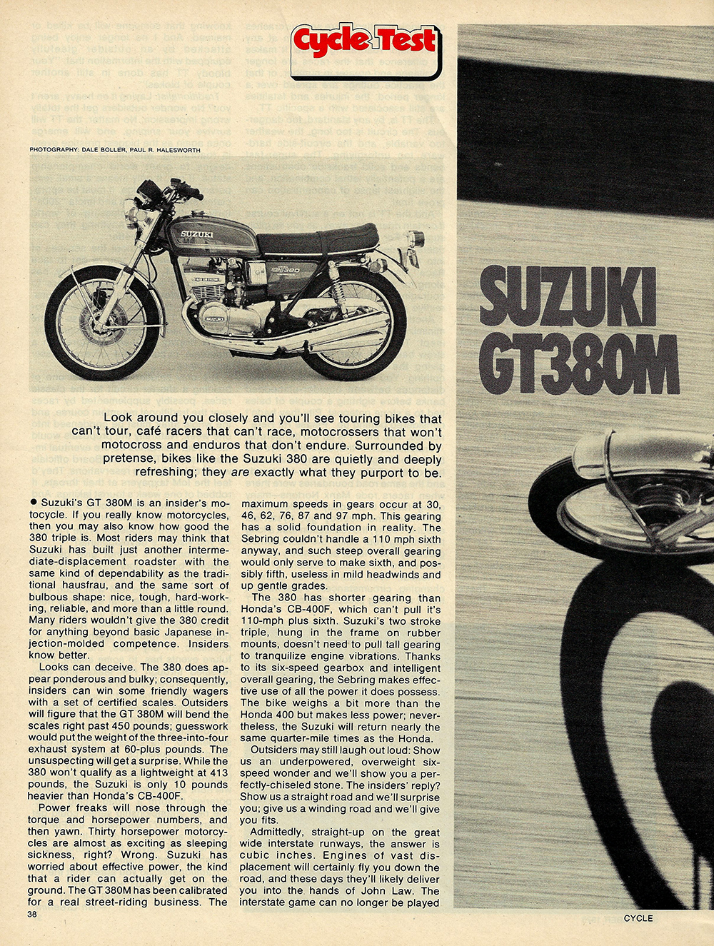 1975 Suzuki GT380M road test 1.JPG