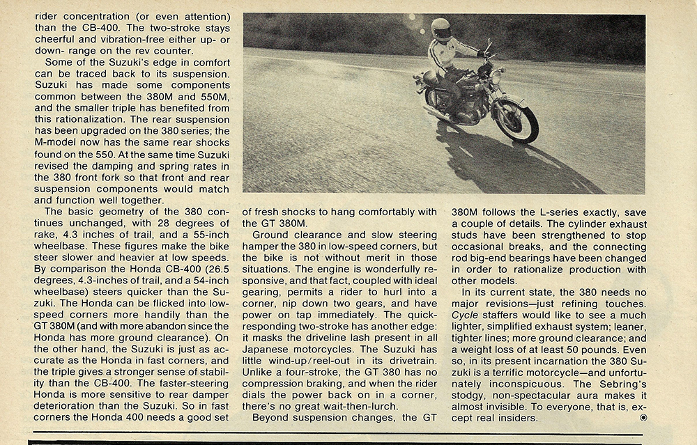 1975 Suzuki GT380M road test 6.jpg