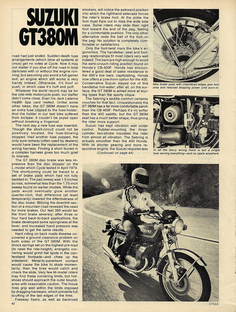 1975 Suzuki GT380M road test 5.JPG