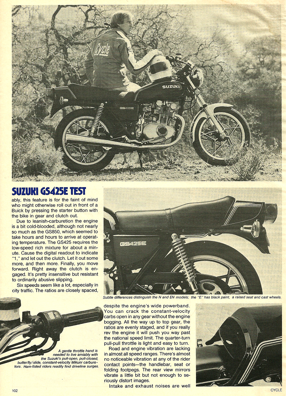 1979 Suzuki GS425E road test 05.jpg