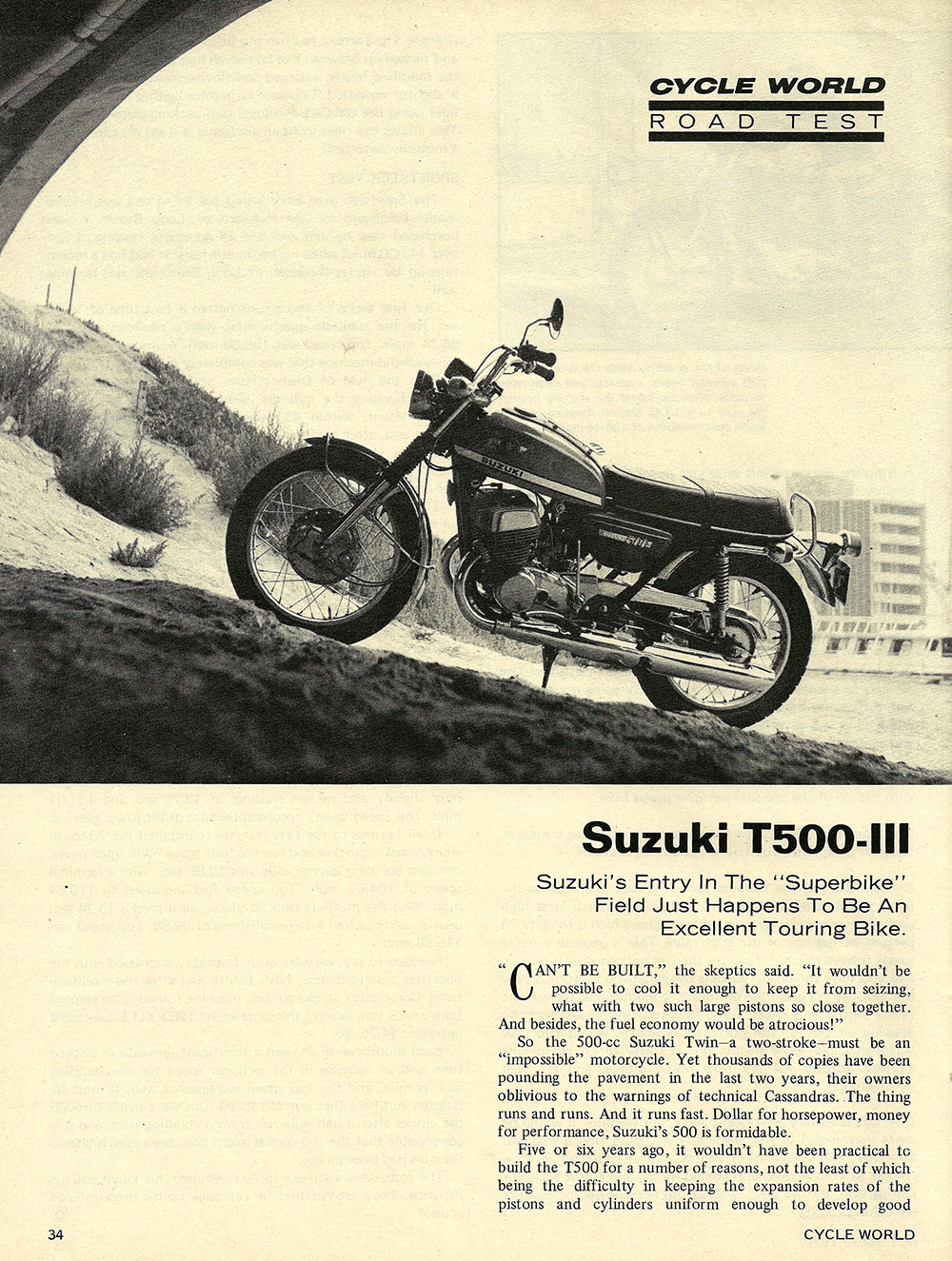 1970 Suzuki T500 III road test 01.jpg